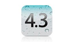Mise à jour iOS 4.3