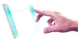 Voici l'ère de l'après-tactile avec la technologie sensation de Fogale
