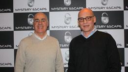 Questions, réponses avec Gilles Cormerais et Axel Rosiefsky, fondateurs de Mystery Escape