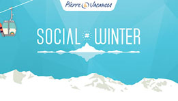 Résultat du concours #SocialWinter organisé par Pierre et Vacances