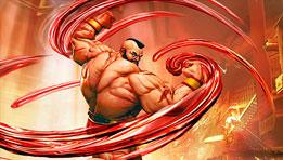 Zangief revient en force dans Street Fighter V
