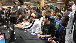 Je suis arrivé 3ème au tournoi de Street Fighter 5 au Paris Manga