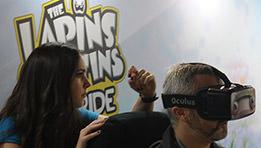 The Lapins Crétins VR-Ride avec Oculus Rift