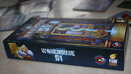 Warehouse 51 : Mon test et mon avis sur ce jeu de société édité par Funforge
