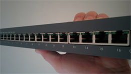 Test du Netgear Click Switch 16 ports, le GSS116E