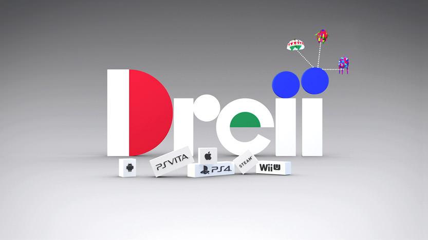 Test du jeu Dreii disponible sur PS4, PS Vita, Wii U, Android, iPhone et PC Steam