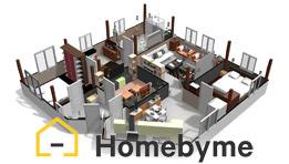 HomeByMe est en logiciel en ligne qui réalise les plans de votre maison ou votre appartement