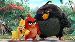 Critique du film Angry Birds avec Redn (doublé par Omar Sy), Mathilda (Audrey Lamy), Chuck, Bomb, Terrence et Aigle Vaillant