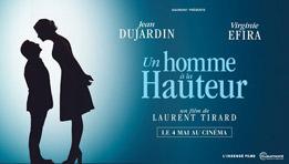Critique du film Un homme à la hauteur de  Laurent Tirard avec Virginie Efira, Jean Dujardin