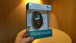 Test de la souris IRIScan Mouse Wifi qui a la possibilité de numériser en toute circonstance