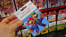 Les cartes prépayées Nintendo eshop compatibles Switch
