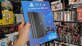 Livre PS4 : Le guide des 945 jeux