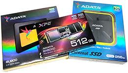 Découverte des produits ADATA et du disque dur SD700