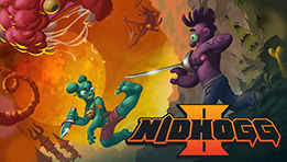 Découvrer le test du jeu Nidhogg 2 sur PS4 : une version améliorée de...