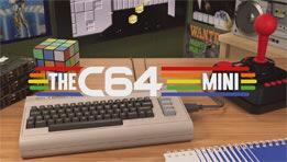 la mini C64 : le grand retour du Commodore 64 en version mini avec 64 jeux préinstallés