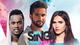 Découvrez le test de Let's Sing 2018 : Hits Français et Internationaux
