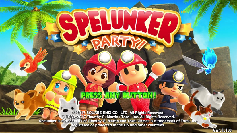 Découvrez le test de Spelunker Party ! Un jeu old school disponible sur Switch et Steam
