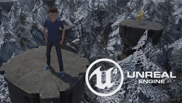 J'ai testé la formation Unreal Engine 4 avec Udemy
