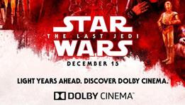 J'ai vu Star Wars 8 en Dolby Cinema. La tête dans les étoiles