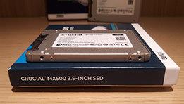 Test des disques durs SSD CRUCIAL MX500 250Go et 500Go