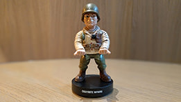 Daniels : la figurine Call of Duty WWII Officer