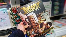 Les banquets d'Astérix, le livre de cuisine officiel des aventures d'Astérix et Obélix, par Thibaud Villanova Gastronogeek