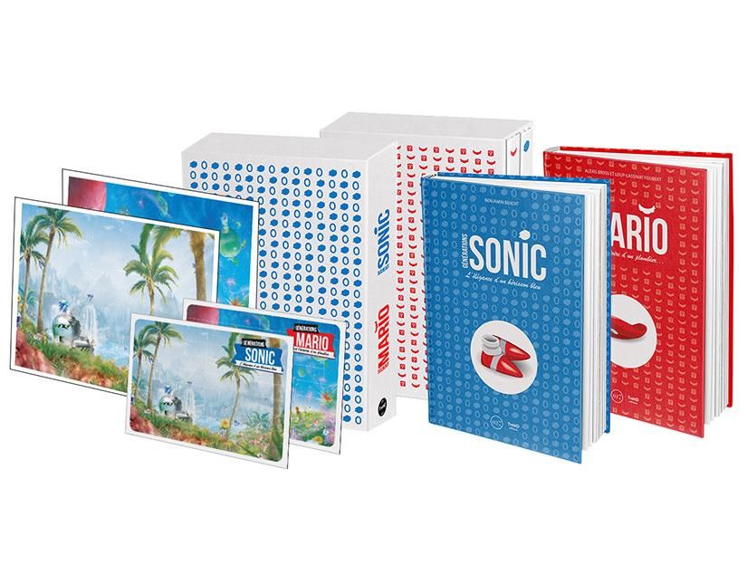 Coffret Générations Sonic & Générations Mario width=