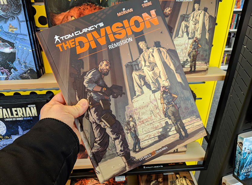 La bande dessinée Tom Clancy's The Division 2 - Rémission width=