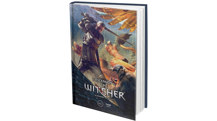 Le livre L'ascension de The Witcher chez Third Éditions width=