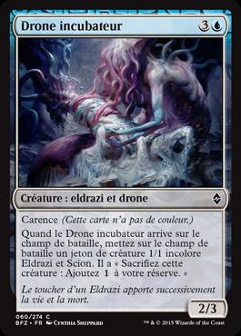 Drone incubateur
