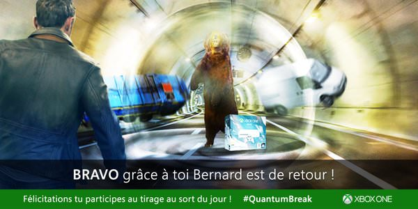 Quantum Break: Il faut #Sauverbernard
