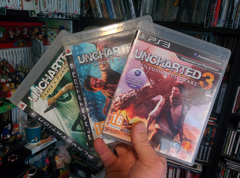 La saga Uncharted sur PS3