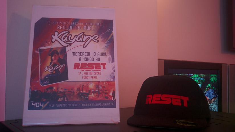 Rencontre avec Kayane au Reset