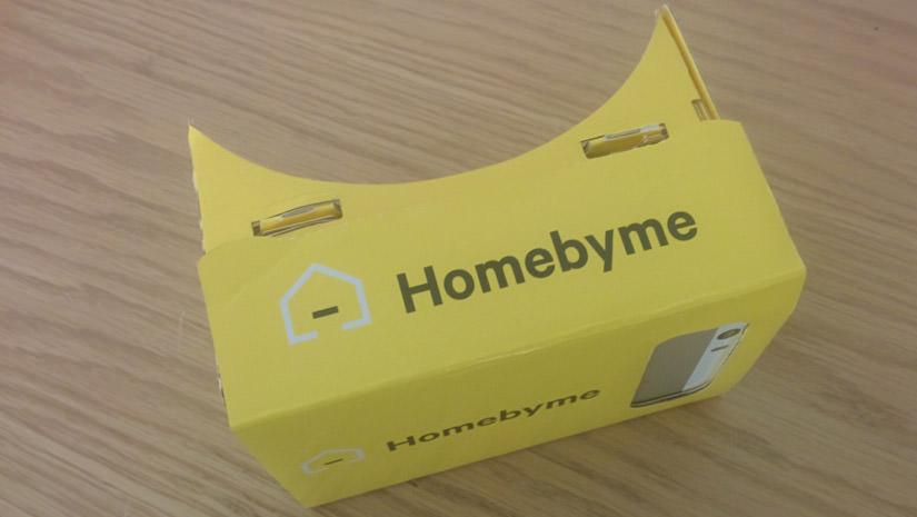 Le casque de réalité virtuelle HomeByMe