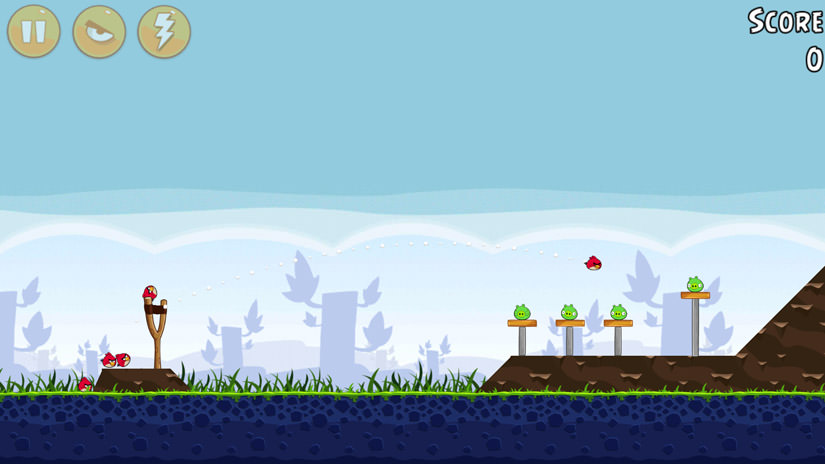 Le jeu Angry Birds