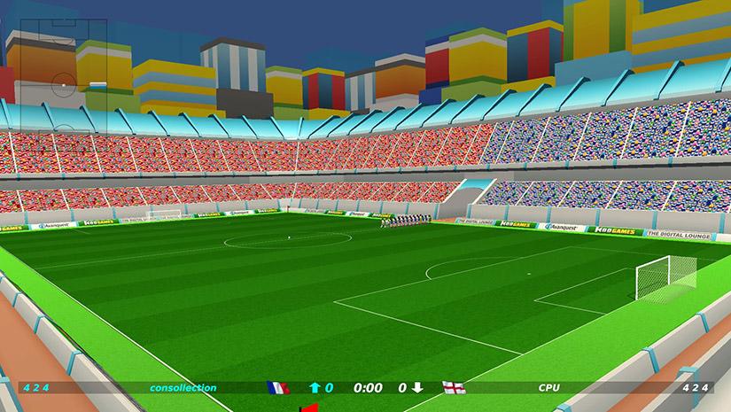 Le seul stade de Dino Dini's Kick Off Revival