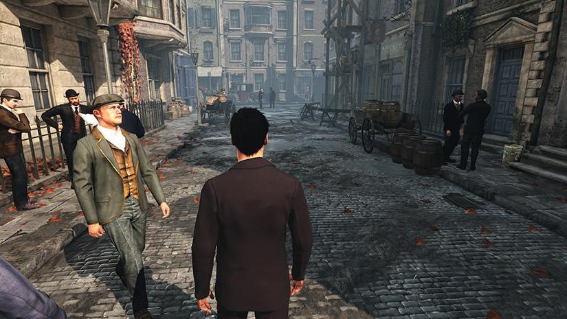 Les rues de Londres dans Sherlock Holmes