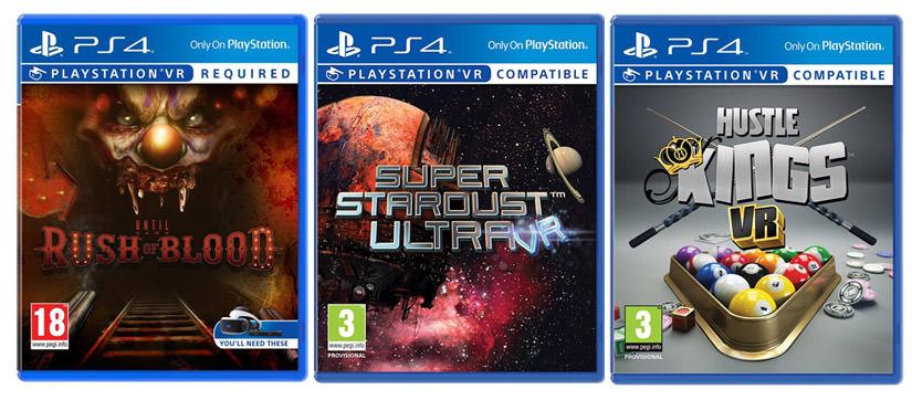 Mes 3 premiers jeux PlayStation VR