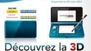 Des bandes-annonces 3D sur Nintendo 3DS