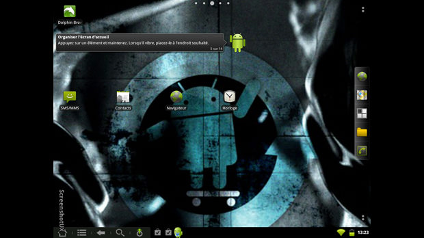 Android sur la HP TouchPad