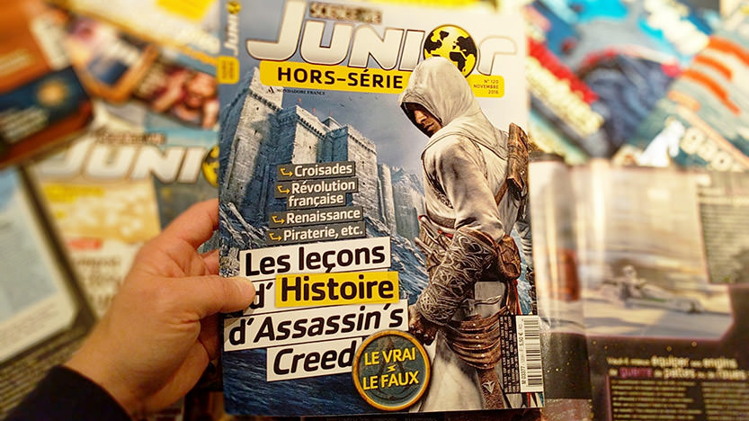 Assassin's Creed dans un hors série de Science & Vie Junior