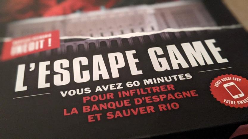 Avis L'Escape Game La Casa de Papel. Un jeu inspiré par la série Netflix