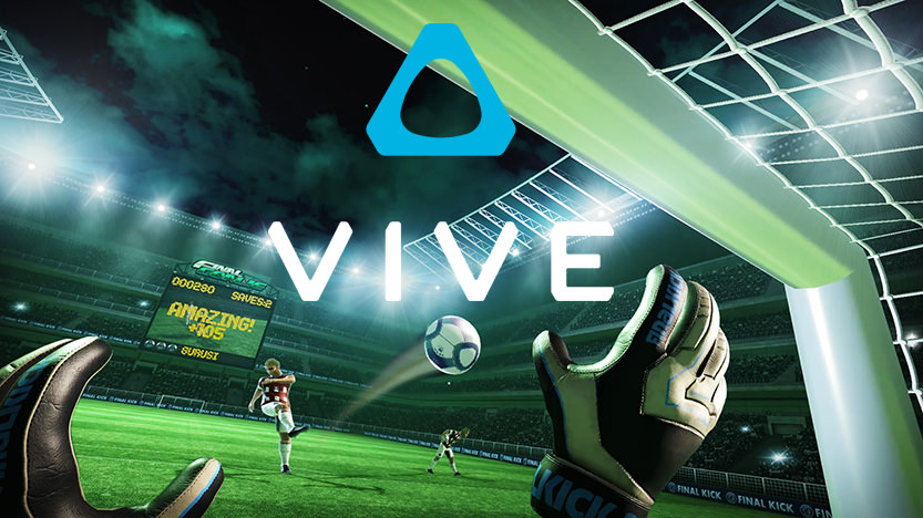 Champion du Monde sur Final Soccer VR avec HTC Vive