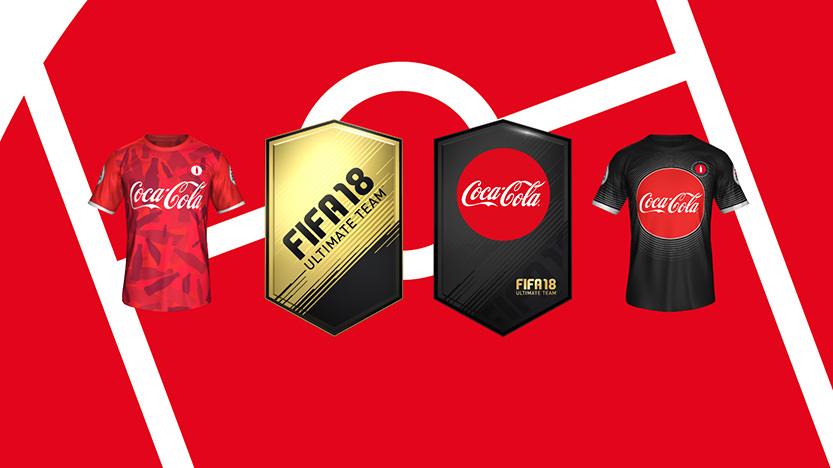 Coca-Cola offre des pack FUT pour la Coupe du Monde 2018