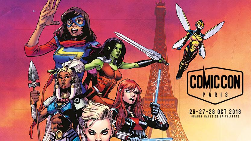 Comic Con Paris 2018: dates, tarif, stands, invités... toutes les infos