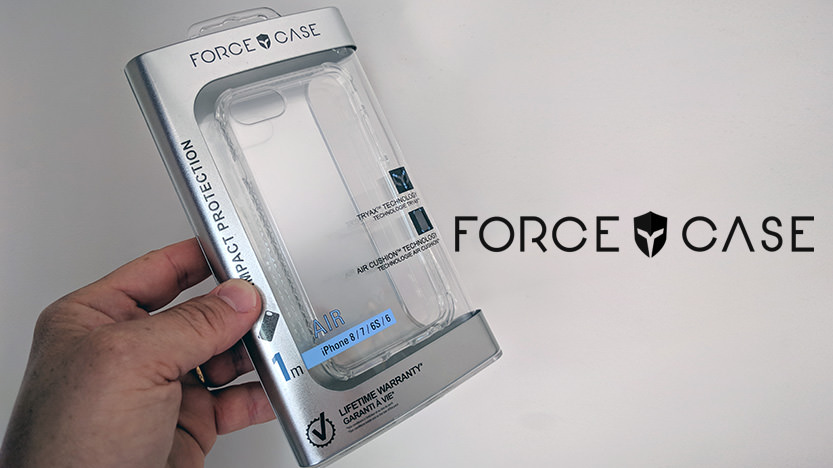 Coque renforcée BigBen Connected Force Case Air Transparent pour iPhone