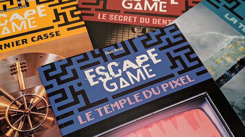 Découverte : Les livres Escape Game disponibles chez Mango