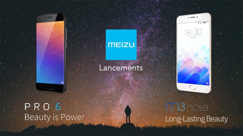 Evènement : présentation des Pro 6 et M3 Note de Meizu
