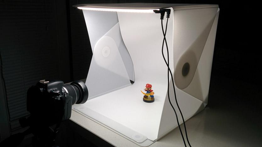 J'ai testé le studio photo Foldio2 de Orangemonkie