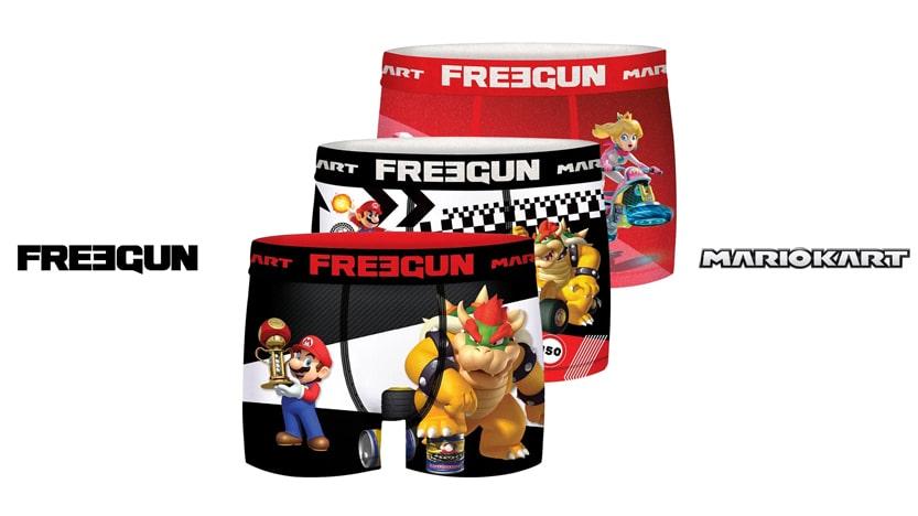 Boxer Mario Kart x Freegun